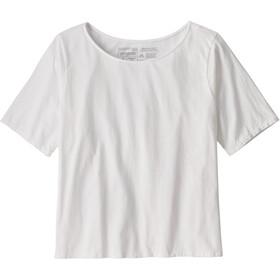 Patagonia Cotton in Conversion Maglietta Donna, bianco